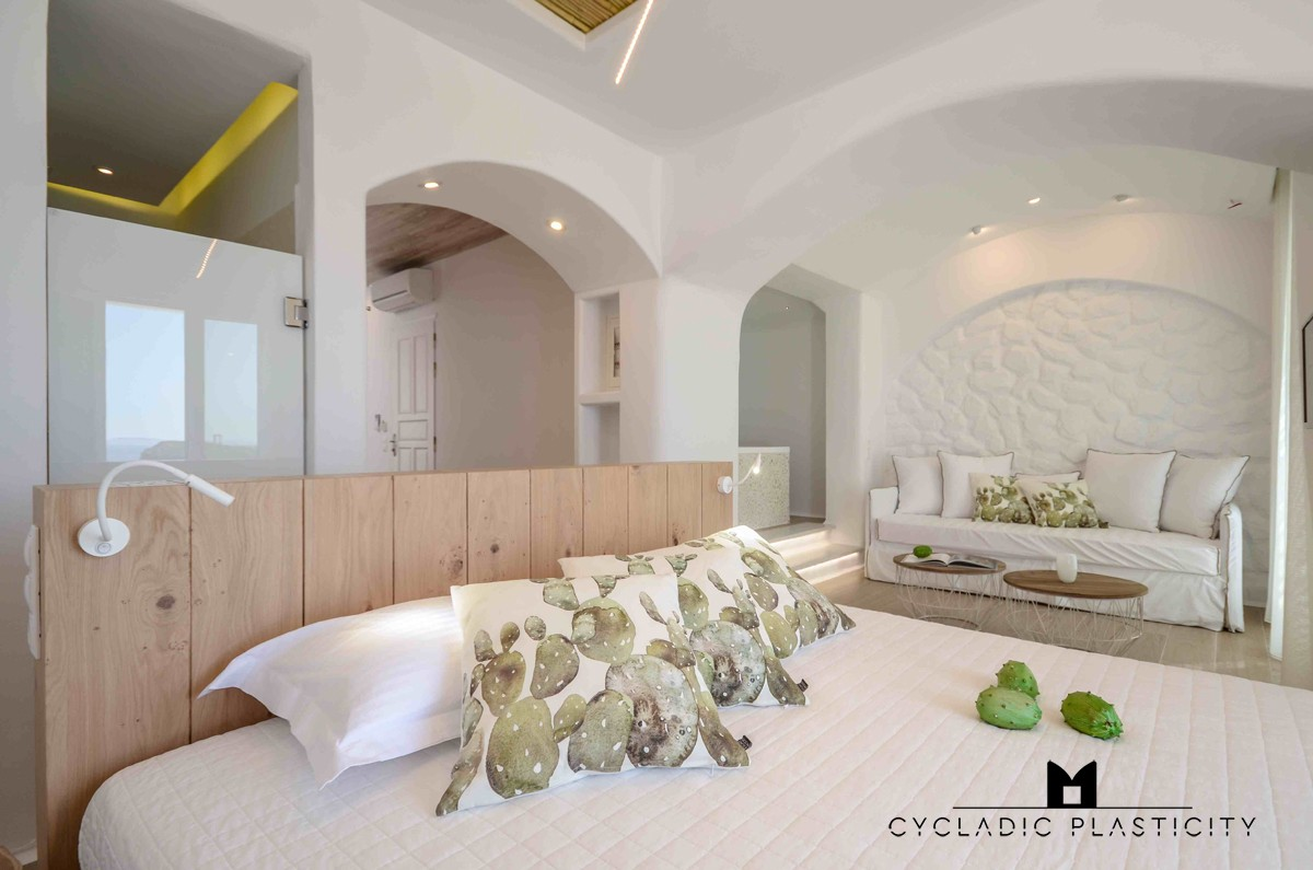 . Bedroom Interior Design on Naxos  Paros  Santorini   Mykonos