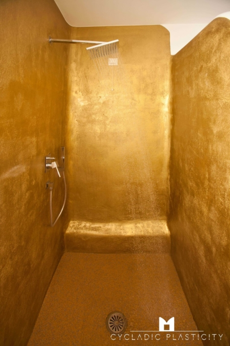 Interior Design For Bathroom Spa On Naxos Paros